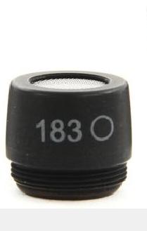 Cápsula Ominidirecional para Microfone Preto Linha MX – R183B SHURE