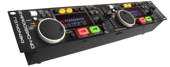 CDJ Duplo MP3 USB DN-D4500 MK2 - Denon DJ