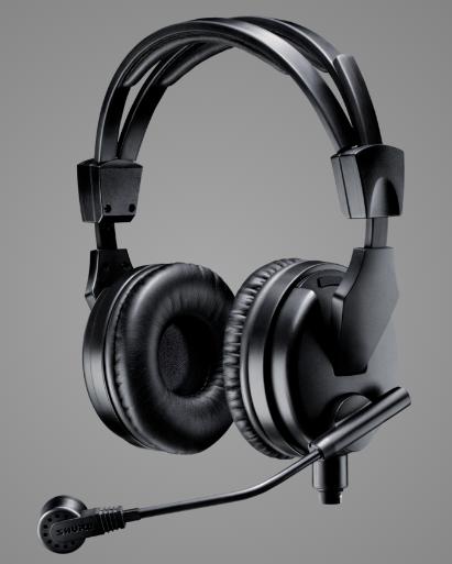 Fone de Ouvido de Transmissão Premium - BRH50M SHURE