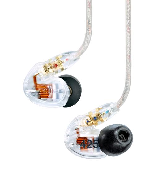Fones In-Ear Shure SE 425-CL
