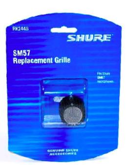 Globo para Microfone Shure SM57 e 545SD
