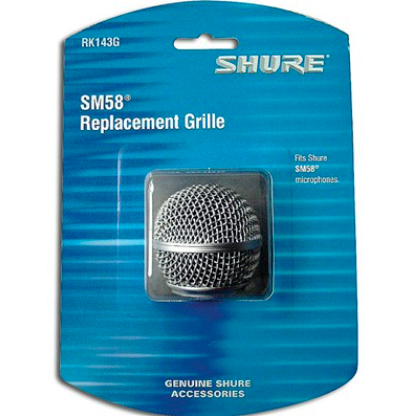 Globo para Microfone Shure SM58 - Shure RK143G