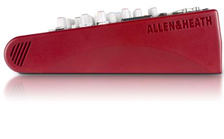 Mesa de Som Analógica ZED-10FX USB 10 Canais - Allen&Heath