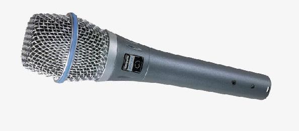 Microfone Condensador Cardioide - BETA 87C SHURE