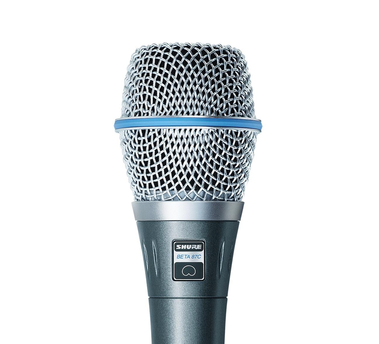 Microfone Condensador Cardioide Shure Beta 87C