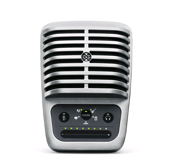 Microfone Condensador Digital de Superfície Shure MV51