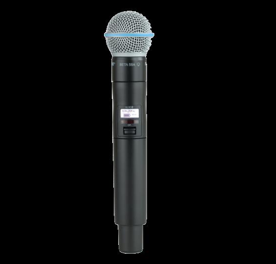Microfone de Bastão Shure ULXD2 com cápsula BETA58 - FREQ. L50