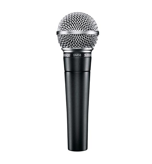 Microfone Dinâmico Cardioide SM58-LC - Shure