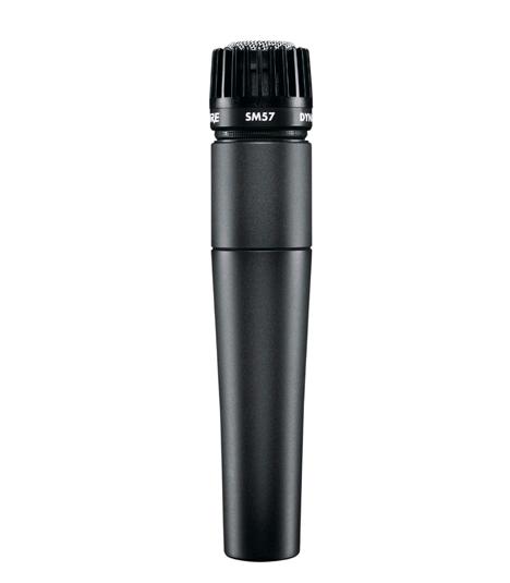 Microfone Dinâmico Cardioide Shure SM57-LC