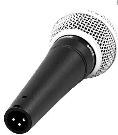 Microfone Dinâmico Cardioide - SM48-LC SHURE