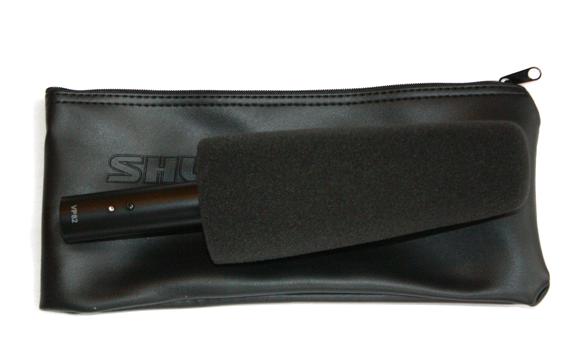 Microfone ShotGun Condensador Lobar Shure VP82