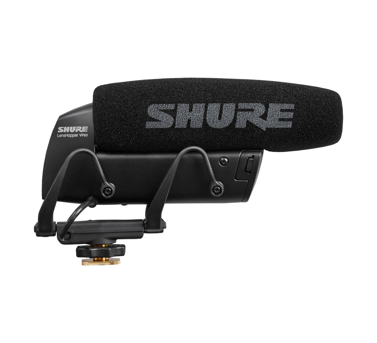 Microfone Shotgun para Cameras Shure VP83
