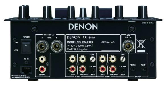 Mixer DJ 2 Canais DN-X120 - Denon DJ