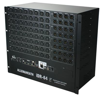 MixRack iLive iDR-64 - Allen&Heath