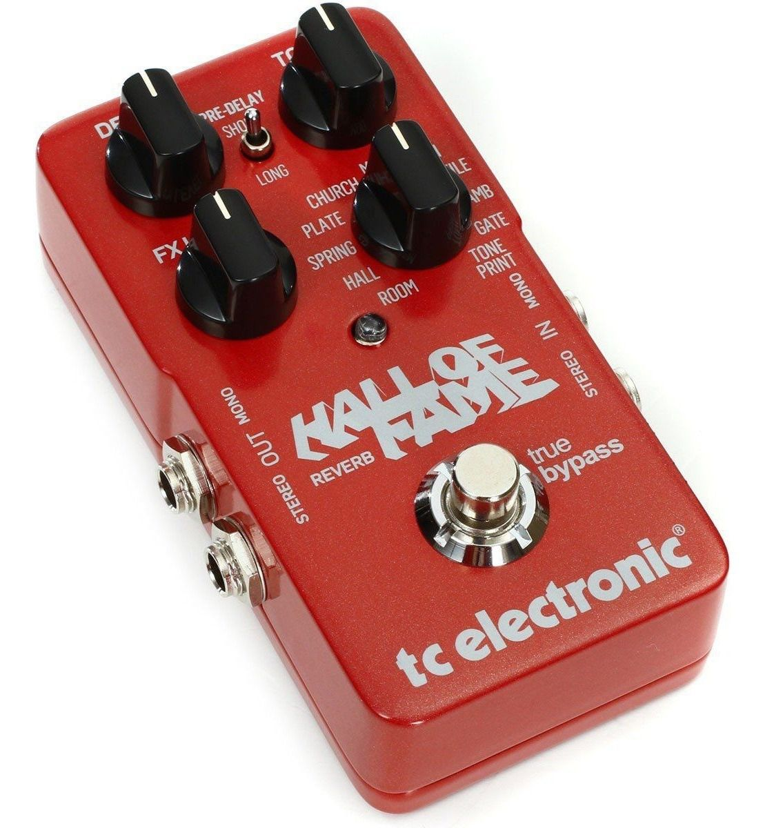 [Mostruário] Pedal Guitarra Hall Of Fame Reverb - TC Electronic