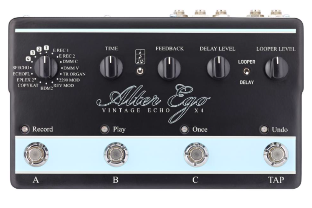 Pedal Guitarra Alter Ego X4 - TC Electronic