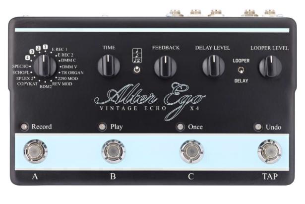 Pedal Guitarra Alter Ego X4 - TC Electronic