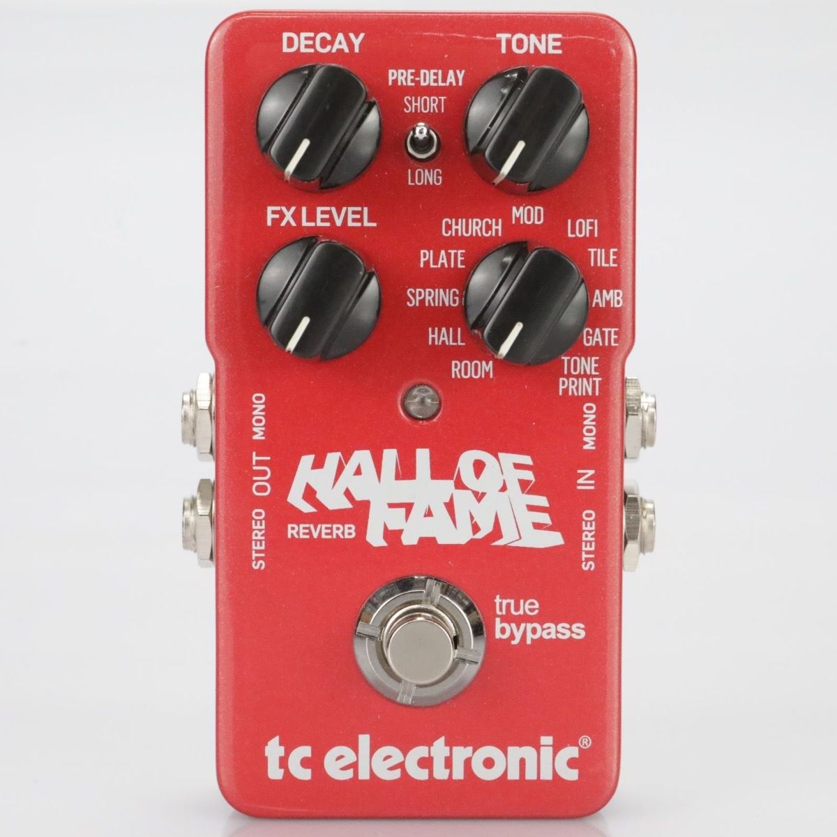 Pedal Guitarra Hall Of Fame Reverb - TC Electronic