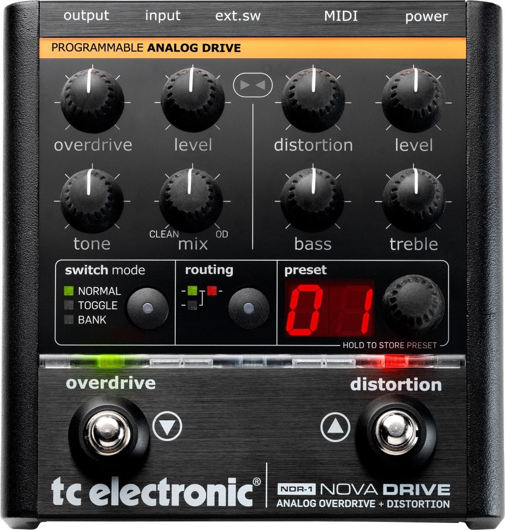 Pedal Guitarra Nova Drive TC Electronic