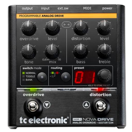 [Mostruário] Pedal Guitarra Nova Drive - TC Electronic