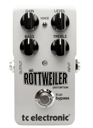 [Mostruário] Pedal Guitarra Rottweiler Distortion - TC Electronic
