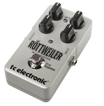 Pedal Guitarra Rottweiler Distortion - TC Electronic