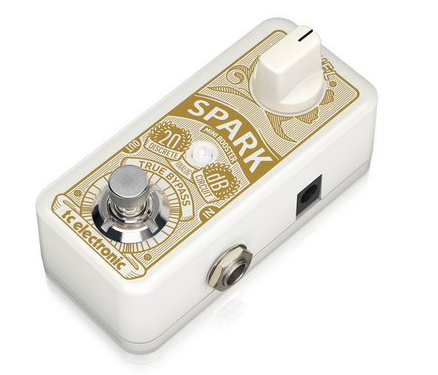 [Mostruário] Pedal Guitarra Spark Mini Booster - TC Electronic