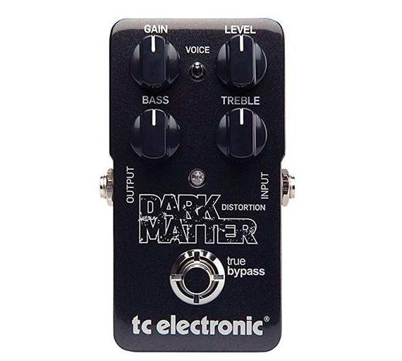 [Mostruário] Pedal Guitarra Dark Matter - TC Electronic