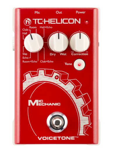 Pedal Voz Mic Mechanic - TC Helicon