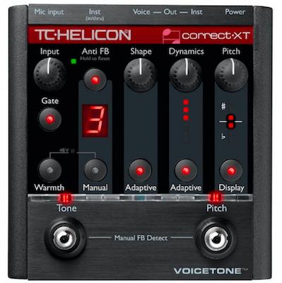 Pedal Voz VoiceTone Correct XT - TC Helicon
