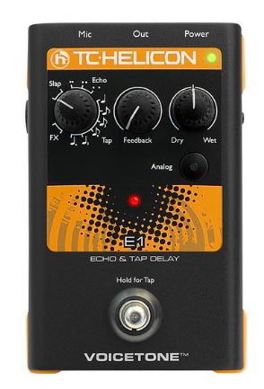 Pedal Voz VoiceTone E1 - TC Helicon