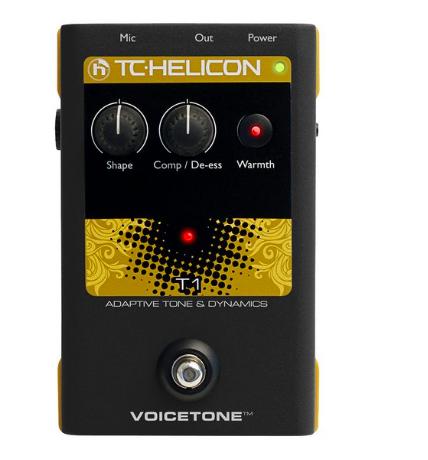 Pedal Voz VoiceTone T1 - TC Helicon