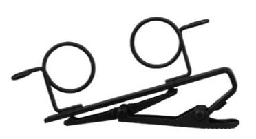 Presilha para Dois Microfones de Lapela - Shure RK 183T2