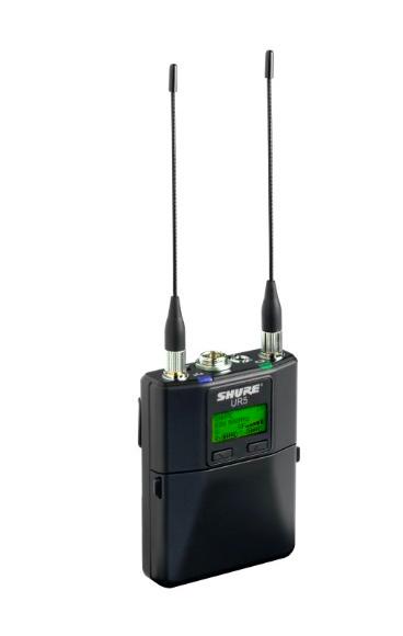 Receptor Portátil sem Fio Shure UHFR UR5-J5