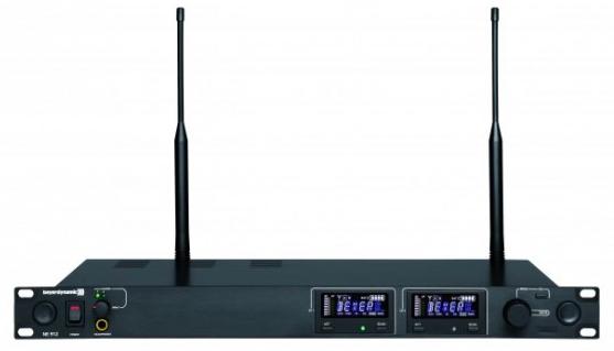 Receptor NE 912 502-574 MHz - BeyerDynamic (de 2 Canais)