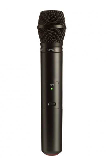 Transmissor de Microfone Sem Fio de Mão Shure FP2 / VP68 - J3