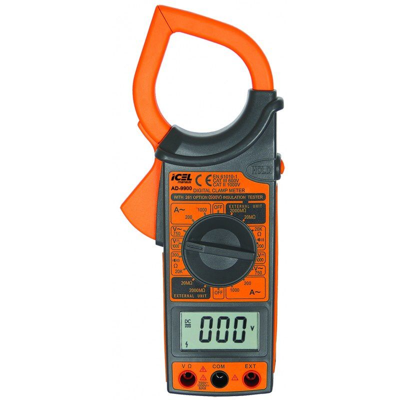 ALICATE AMPERIMETRO DIGITAL AD-9900 ICEL