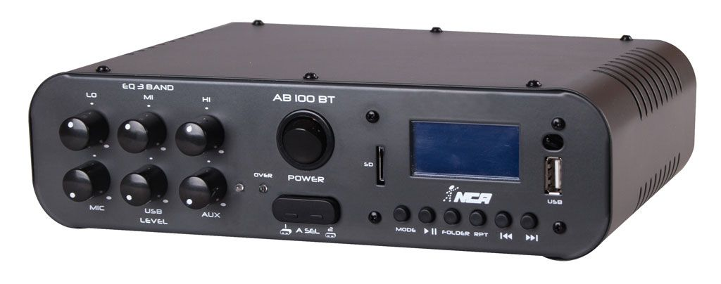AMPLIF DE POTENCIA 100W RMS USB AB100BT NCA