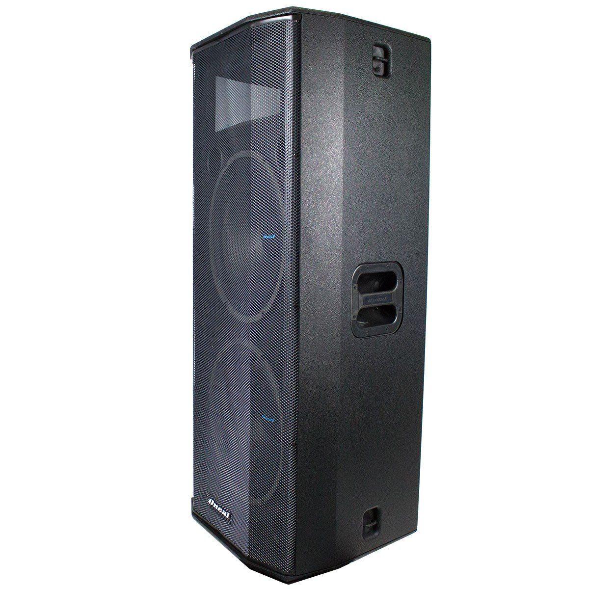 CAIXA ACUSTICA USB 600W 2 ALTO FALANTE OPB5060 ONEAL