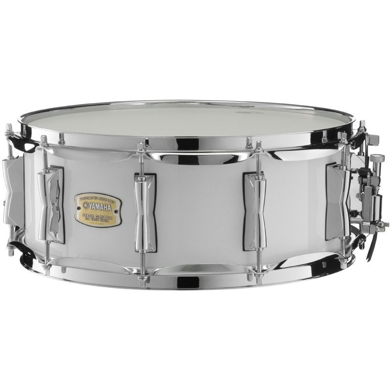 CAIXA BATERIA 14'' STAGE CUSTOM SBS1455 PWH WHITE
