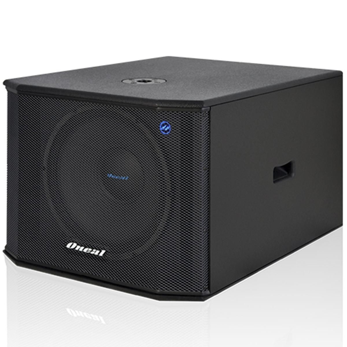 CAIXA SUB 600W RMS 15 POL OPSB-3215-PTO ONEAL