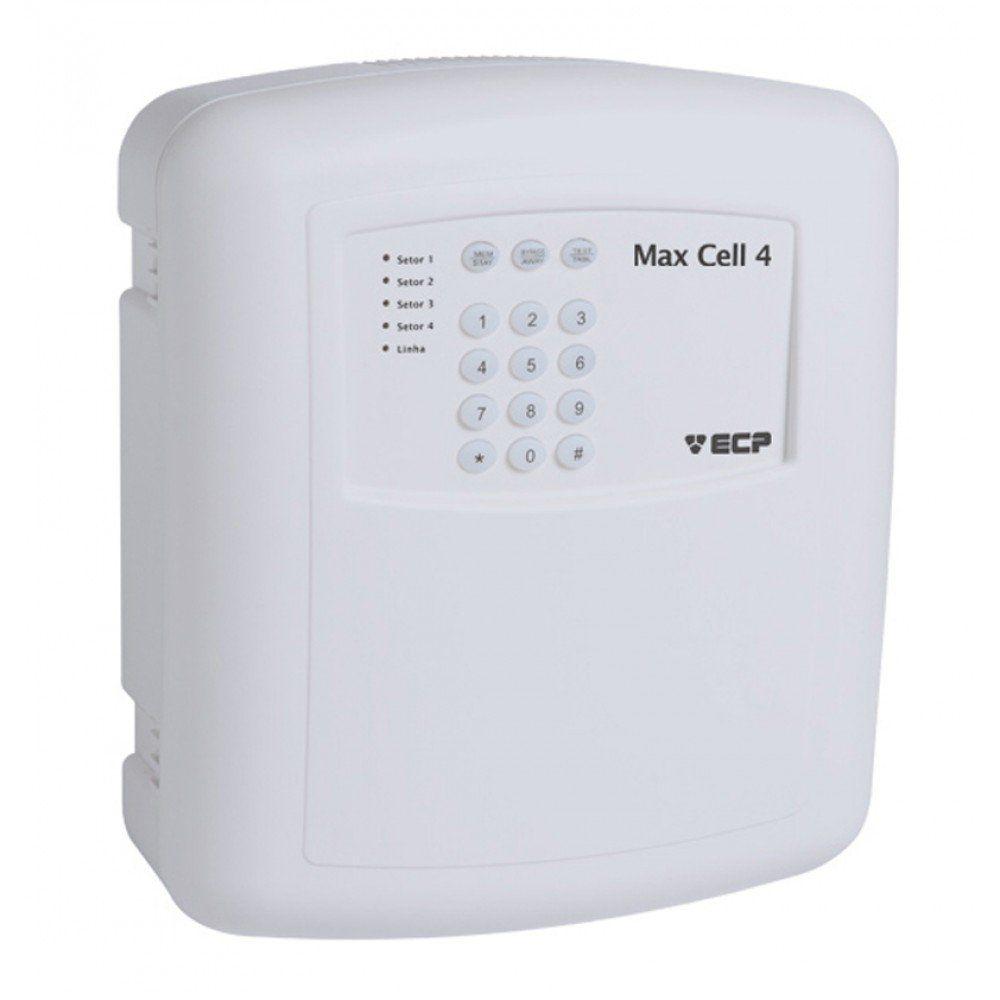 CENTRAL DE ALARME GSM DTMF OU SMS MAX CELL 4
