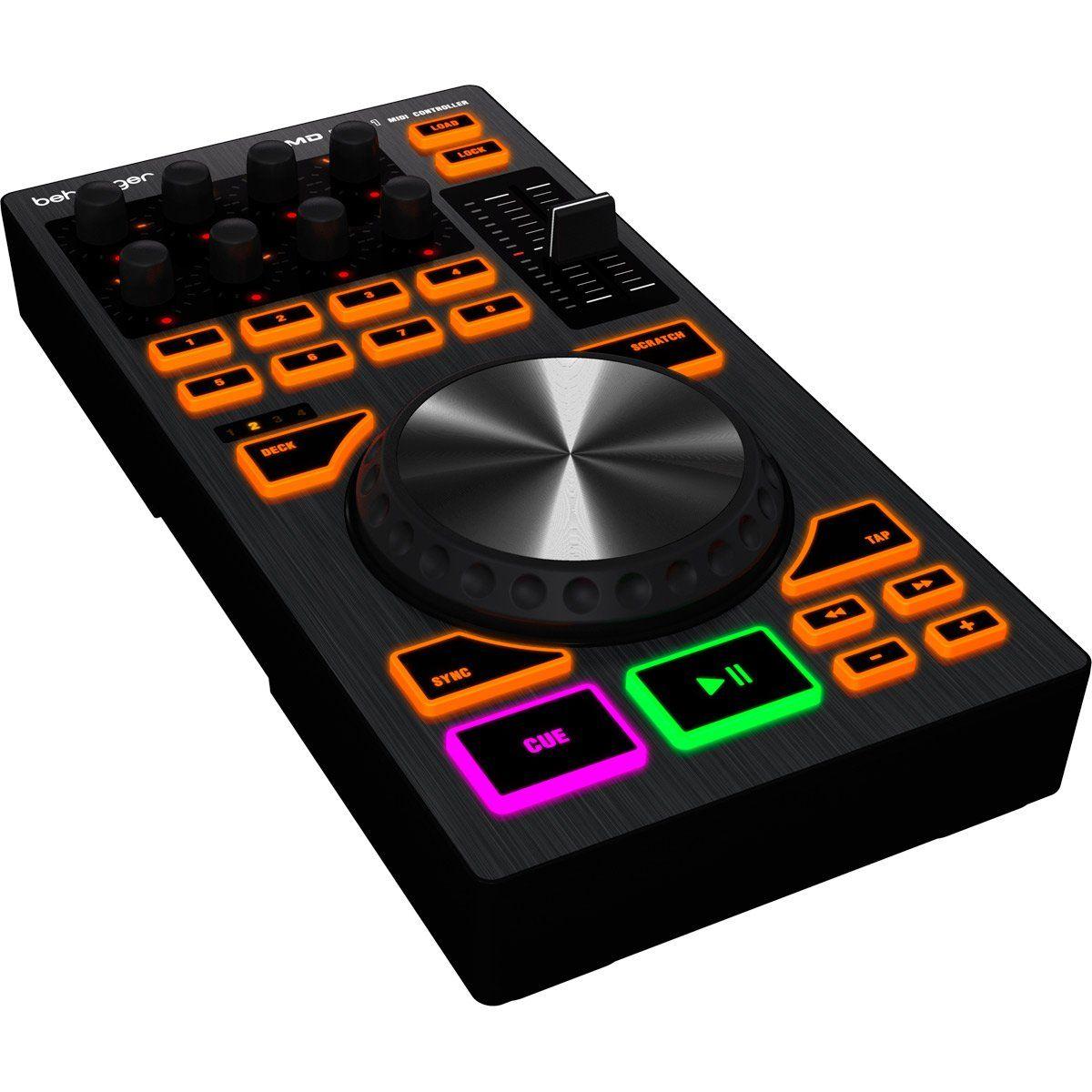 CONTROLADOR DJ MIDI CMD PL1 BEHRINGER