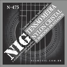 ENC VIOLAO NYLON NIG N475 NIG