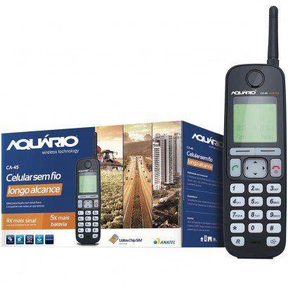 KIT TELEFONE RURAL LOGO ALCANCE CA-4500