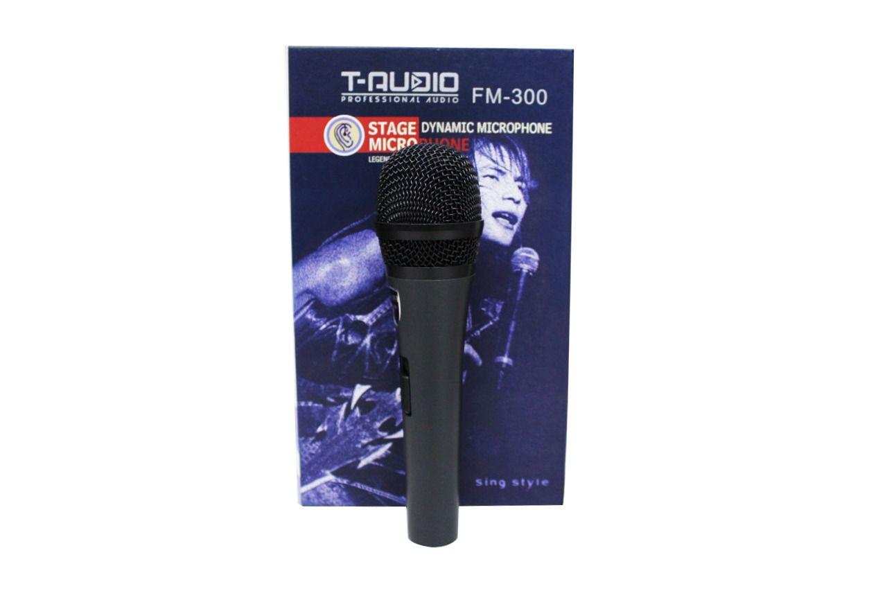 MICROFONE C/ FIO FM-300 FUGUE E TAUDIO