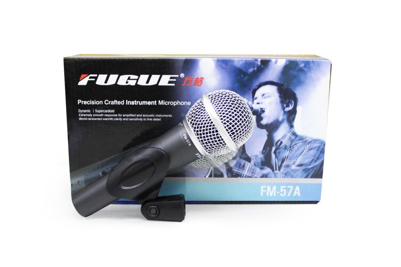 MICROFONE C/ FIO FM-57A FUGUE E TAUDIO