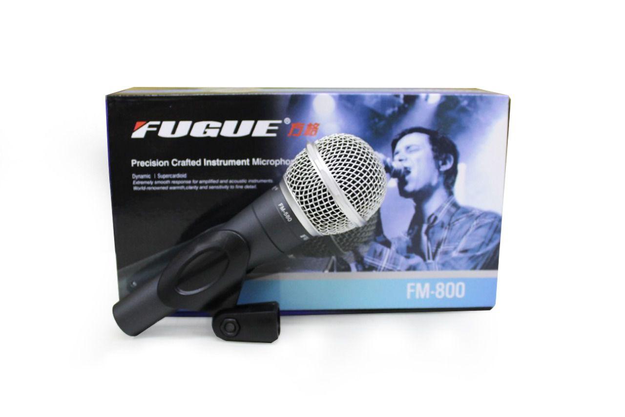 MICROFONE C/ FIO FM-580 FUGUE E TAUDIO