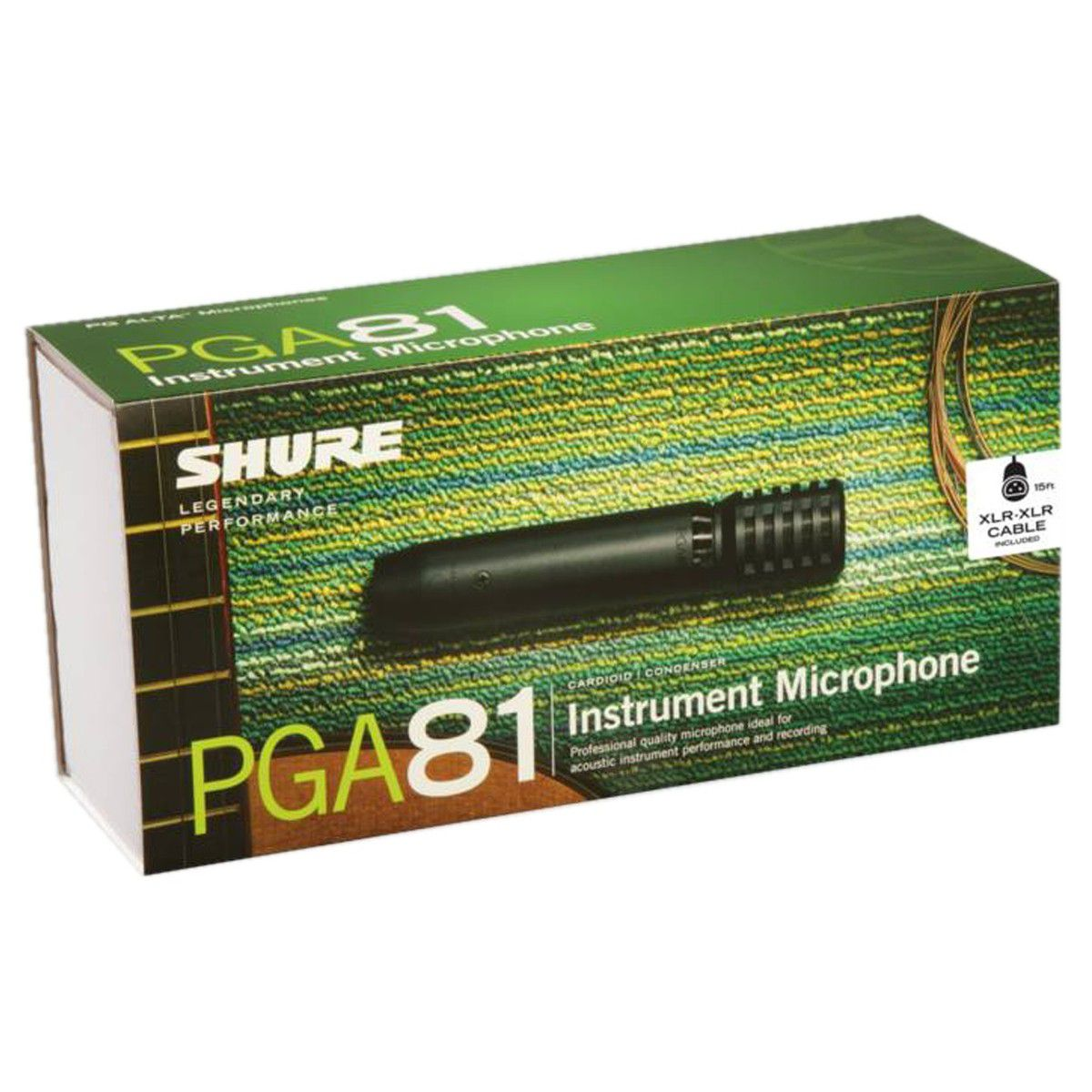 MICROFONE CARDIODE P/ INSTRUMENTOS PGA-81