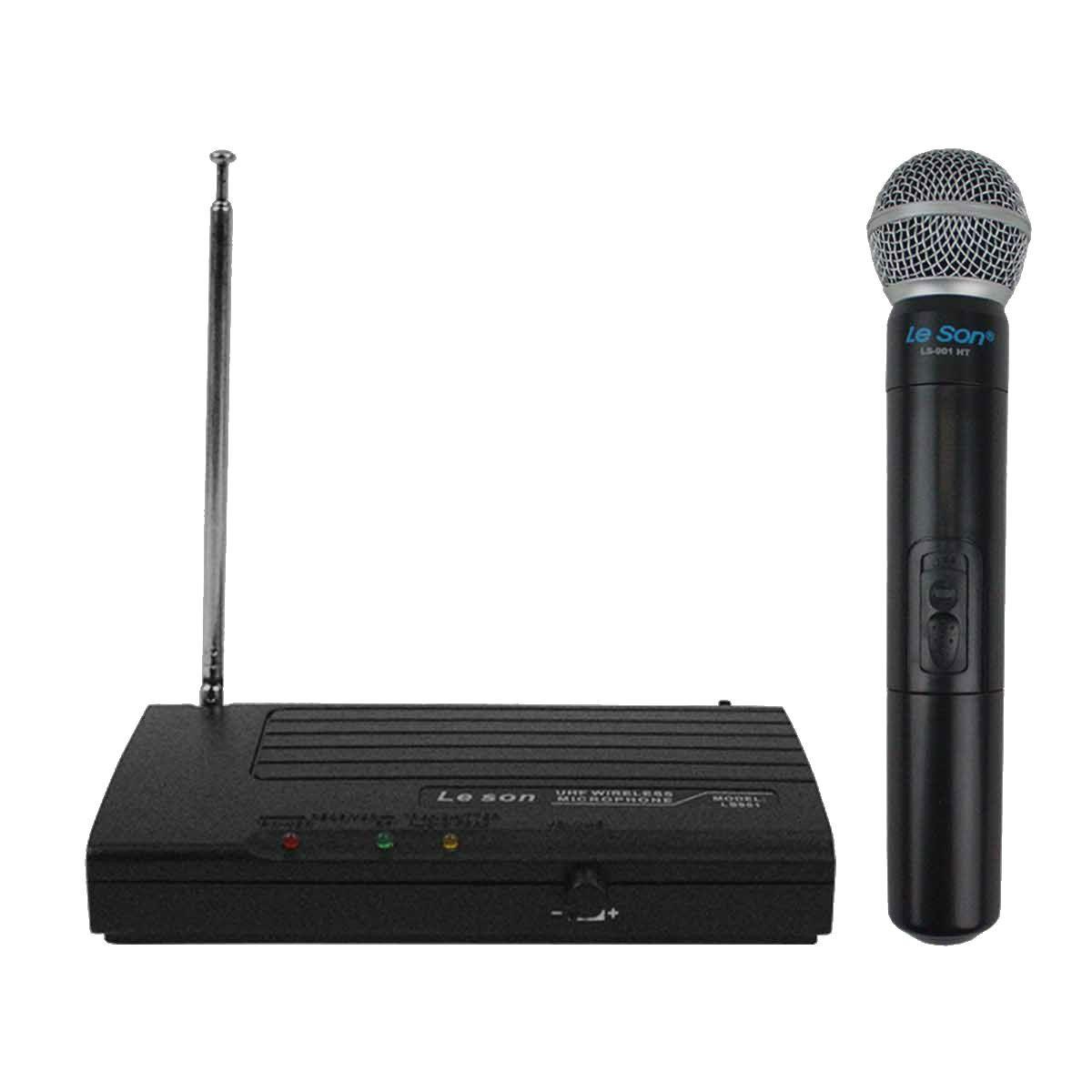 MICROFONE S/ FIO UHF MAO LS-801 HT LS-901 LESON
